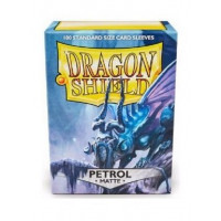 Dragon Shield Box of 100 in Matte Petroleum