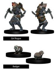 Girl Rogue & Badger