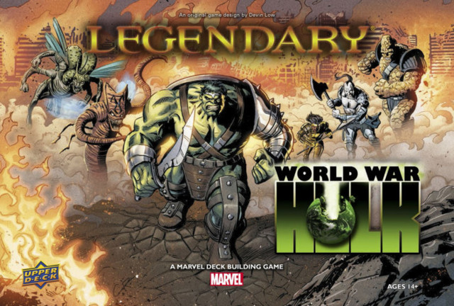Legendary - A Marvel Deck Building Game – World War Hulk