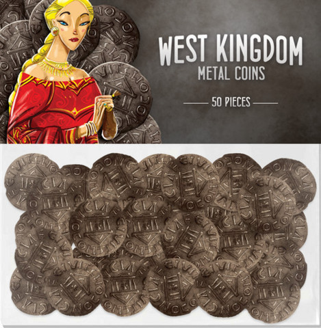 Architects of the West Kingdoms - Metal Coins
