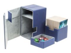 Flip n Tray Deck Case 100+ Standard Size XenoSkin Blue