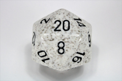 Speckled 34mm Arctic Camo™ d20 XS2087