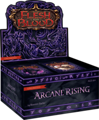 Flesh and Blood TCG Arcane Rising UNLIMITED Booster Box
