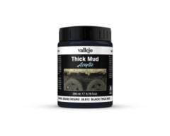 26812 Diorama Effects Black Thick Mud 200ml