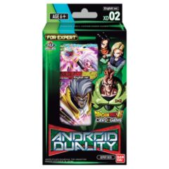 Dragon Ball Super Card Game Series 8 Expert Deck 02 DISPLAY Malicious Machinations Android Duality