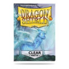 Dragon Shield Box of 100 MATTE Clear