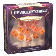 D&D The Witchlight Carnival Dice & Miscellany