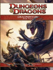 Dungeons & Dragons Draconomicon Metallic Dragons