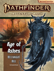 Pathfinder Second Edition Age of Ashes Adventure Path #1 Hellknight Hill
