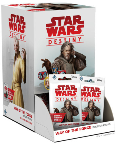 Star Wars Destiny Way of the Force Box