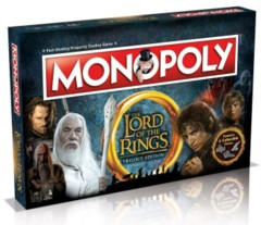 Lord of the Rings Trilogy Edition Monopoly