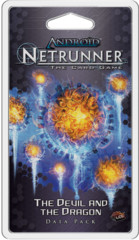 Android Netrunner LCG The Devil and the Dragon Data Pack