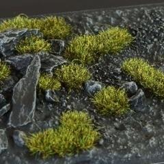 Gamers Grass Dark Moss 2mm Tufts Wild