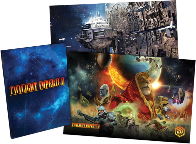 Twilight Imperium 4th Ed Incliding Hard Cover Rulebook and