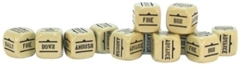 Bolt Action Orders Dice Sand