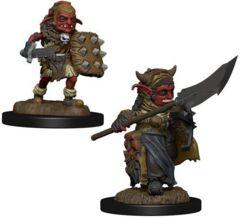 Wardlings RPG Figures Boy Warlock & Lizard