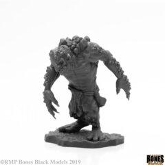 Reaper Bones Black: Rock Troll 44002