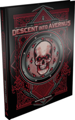 D&D Descent into Avernus Limited Edition Alternate Art Cover