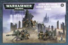 AStra Militarum Cadian Heavy Weapon Squad 47-19
