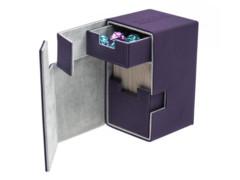 Flip n Tray Deck Case 100+ Standard Size XenoSkin Purple