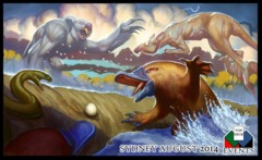 GP Sydney 2014 Playmat Australian Animals