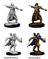 Pathfinder Battles Deep Cuts Male Half Elf Ranger
