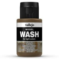 76514 Model Wash Dark Brown 35 ml Acrylic Paint