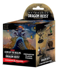 Icons of the Realms Waterdeep Dragon Heist Set 9 Booster