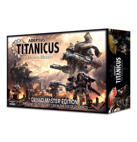 Adeptus Titanicus The Horus Heresy Grand Master Edition Miniatures Games Workshop Warhammer Board Games 30k The Games Cube