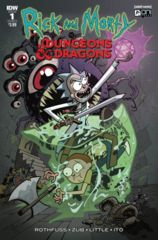 D&D Rick and Morty VS Dungeons & Dragons Comic Book