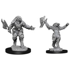 Nolzurs Marvelous Unpainted Miniatures Female Dragonborn Fighter