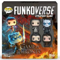 Funkoverse - Game of Thrones 100 4 -Pack Expandalone Strategy Board Game