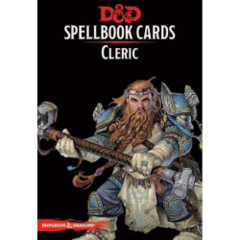 D&D Spellbook Cards Cleric Deck