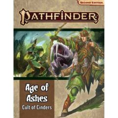 Pathfinder Second Edition Age of Ashes Adventure Path #2 Cult of Cinders