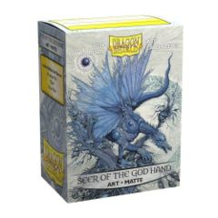 Dragon Shield - Box 100 - MATTE Art - Seer of the God Hand