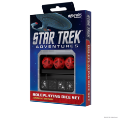 Star Trek Adventures Dice Set Command Red