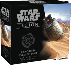 (PREORDER) Star Wars Legion Crashed  Escape Pod Battlefield Expansion