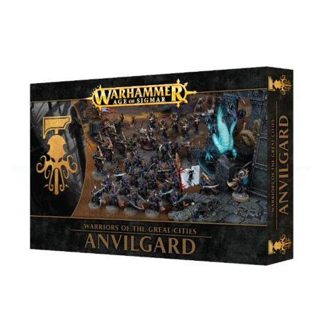 Warriors of the Great Cities: Anvilgard - MINIATURES » Games