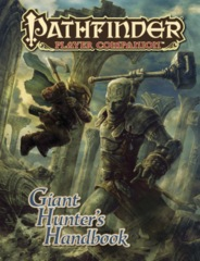 Pathfinder Player Companion Giant Hunters Handbook