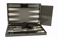 Dal Rossi Carbon Fibre Finish Backgammon 18