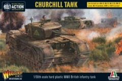Bolt Action Churchill Tank