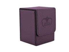 Deck Box Ultimate Guard Flip Deck Case 100+ Standard Size Purple
