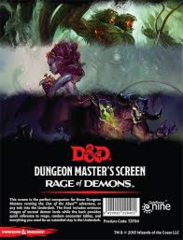 Dungeon Master's Screen Rage of Demons