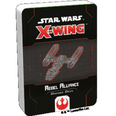 (Preorder) Star Wars X-Wing 2nd Edition Rebel Alliance Damage Deck