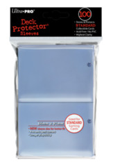 100ct Clear Standard Deck Protectors