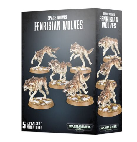 Space Wolf Fenrisian Wolf Pack 53-10