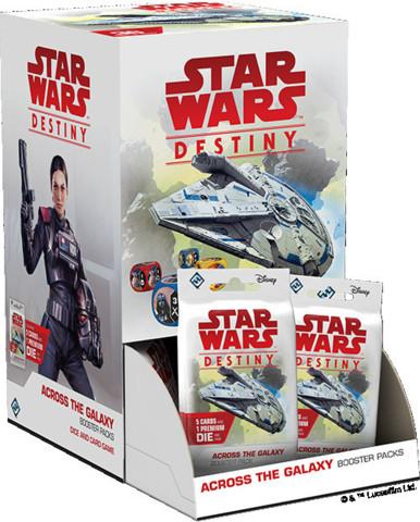 6. Star Wars Destiny Across the Galaxy Booster Display