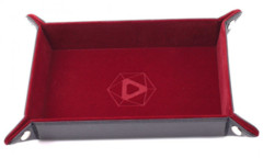Die Hard Dice Folding Rectangle Tray - Red Velvet