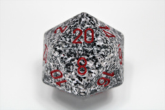 Speckled 34mm Granite™ d20 XS2030