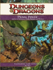 Dungeons & Dragons Primal Power